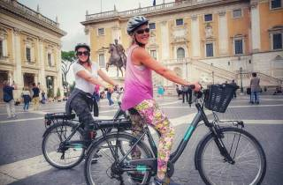 Rom: Sehenswürdigkeiten der Stadt Highlight Private Bike Tour