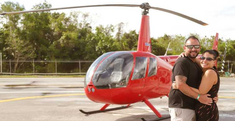 Punta Cana: Scenic Helicopter Flight