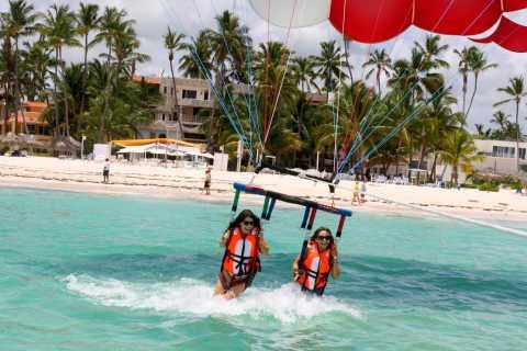 Punta Cana: crucero de fiesta con esnórquel y paravelismo