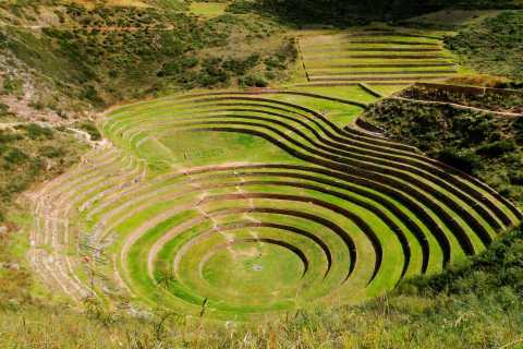 From Cusco: Sacred Valley and Moray Salt Mines