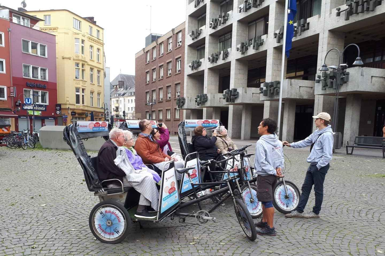 Köln: Sightseeing-Tour per Rikscha