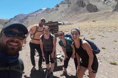 Mt. Aconcagua Confluencia Camp Trekking