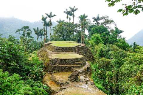 From Santa Marta: Ciudad Perdida 4-day Trek