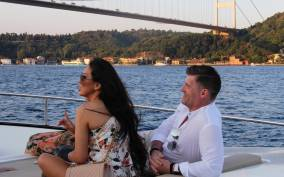 Bosphorus Sunset Cruise on a Luxurious Yacht