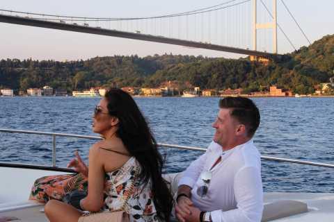 Bosphorus Sunset Cruise on a Luxurious Yacht