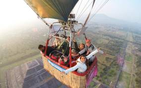 From Mexico City: Hot Air Balloon in Teotihuacan