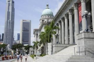 Singapurs altes Kolonialviertel: Rundgang