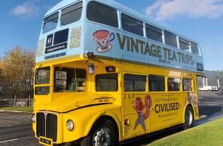 Dublin: Tour im Oldtimer-Bus mit Nachmittagstee