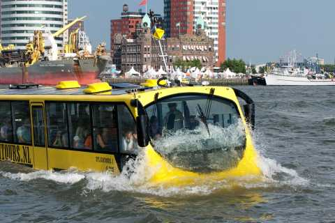 Rotterdam: 1-Hour Sightseeing Splash Tour