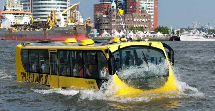 Roterdã: Excursão Veículo Anfíbio de 1 Hora e Meia