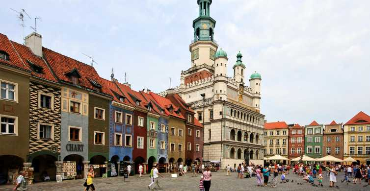 Poznan: Old Town and Citadel Park Private Walking Tour