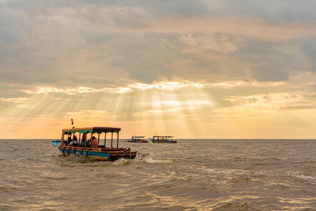 Siem Reap: Floating Village, Sunset Boat Tour, and More