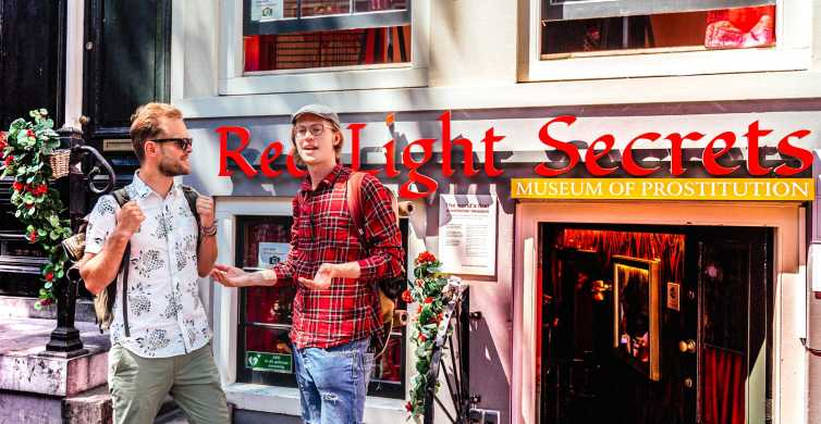 Amsterdam Red Light District Private Tour with a Local