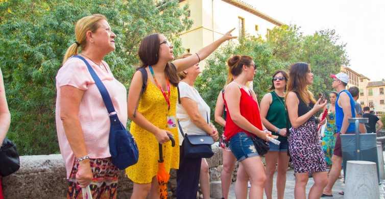 Granada: Visita guiada a pie por el Albaicín y el Sacromonte