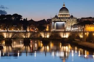 Rom: Private Nachttour mit Chauffeur