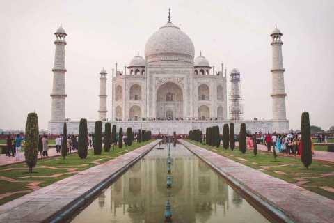 From Delhi: Full-Day Taj Mahal Tour by Car
