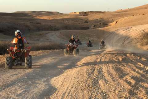 Agafay Desert: Full-Day Quad Bike and Camel Ride Tour