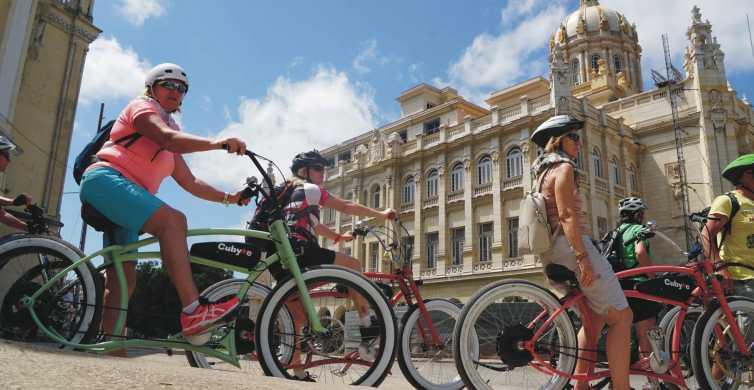La Havane: visite guidée d'une journée en vélo électrique avec déjeuner