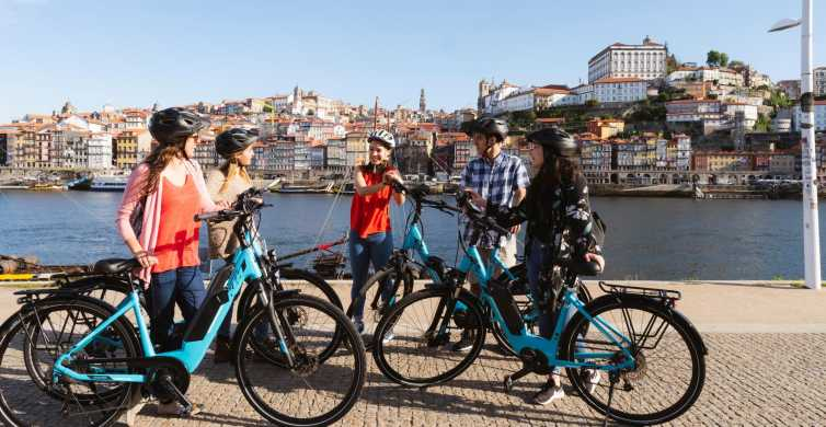 Porto: 3-Hour Old Town and Riverside Bike Guided Tour