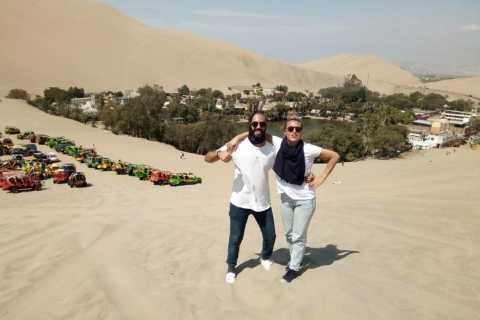 From Lima: Ballestas Islands, Huacachina and Nazca Line Tour