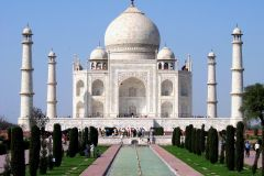Nova Delhi: Excursão Guiada ao Taj Mahal e Forte de Agra