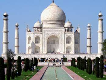 Ab Neu-Delhi: Taj Mahal & Rotes Fort Sightseeing-Tour