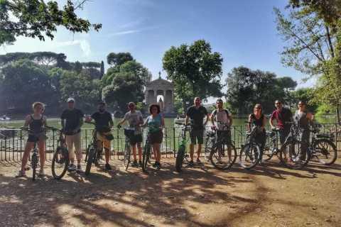 Rome: Villa Borghese Private E-Bike Tour & Optional Picnic