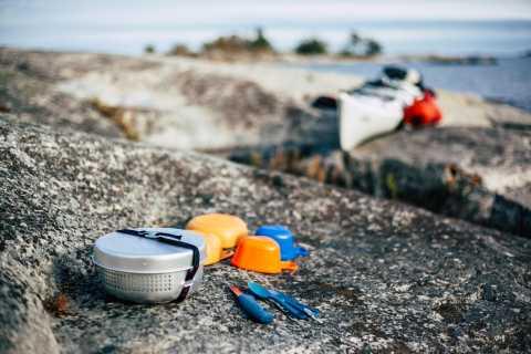 Arcipelago di Stoccolma Campeggio autoguidato di 3 giorni e kayak