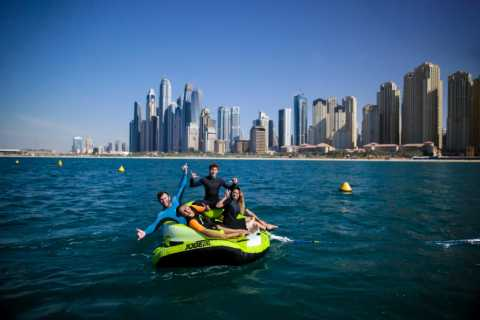 Dubai: Donut Ride at Jumeirah Beach Residence