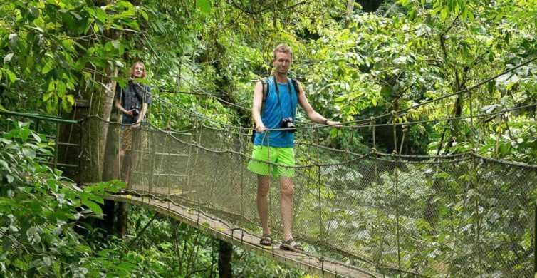 Manuel Antonio: Rainmaker Park Bridge & Waterfall Tour