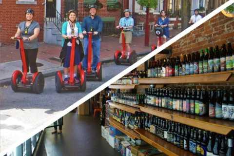 Philadelphia: Sip and Glide Segway og Craft Beer Tour