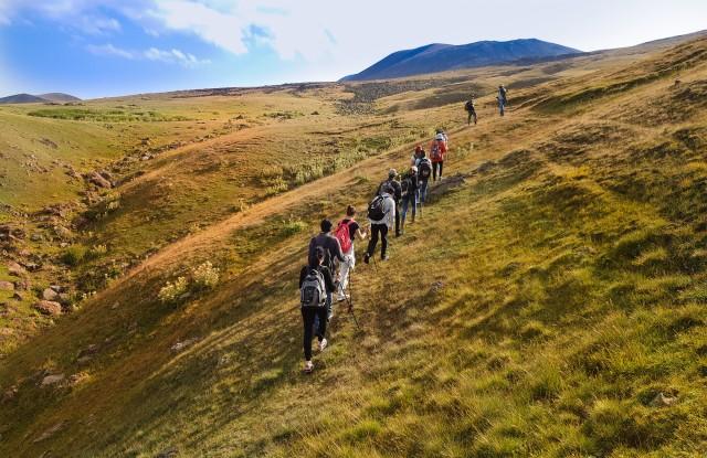 Van Yerevan: wandeltocht van 2 dagen door Garni, Geghard en Azhdahak