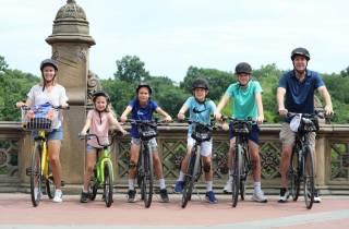 New York: Fahrradverleih im Central Park