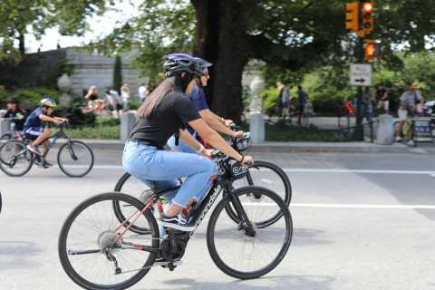 New York: E-Bike Rental for Central Park