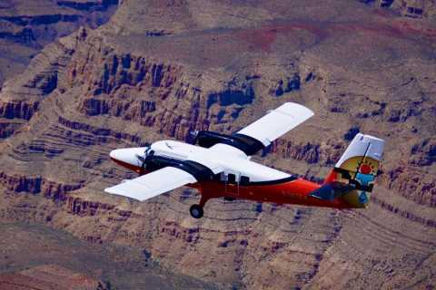 From Las Vegas: Grand Canyon West Rim Airplane Tour