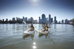 Brisbane: Aluguel de Caiaque de 2 Horas no Rio Brisbane
