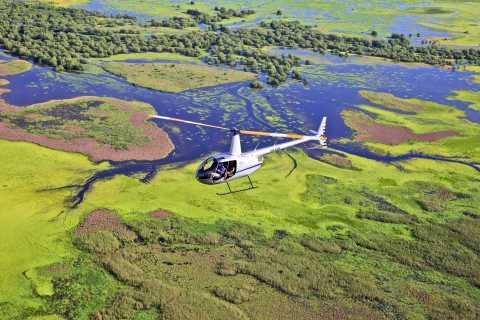 Darwin: Heldagsfiskeri og luftbådeventyr på heldagen