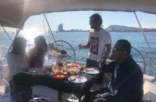 Barcelona: Abenteuer auf einem Segelboot
