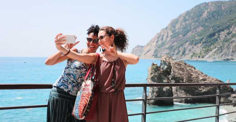 Cinque Terre: begeleide retourbustrein vanuit Florence
