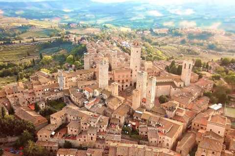 Siena, San Gimignano, Chianti, degustazione di vini e pranzo