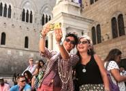 S. Gimignano, Siena, Chianti: Tour, Mittagessen & Verkostung