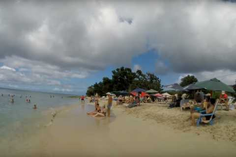 St. Croix: Rainbow Beach with Round-Trip Transportation