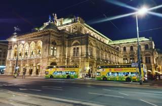 Wien: Abendliche Panorama-Bustour durch die Stadt