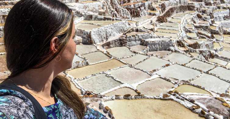 Depuis Cuzco:demi-journée à Moray, salines et tisserands