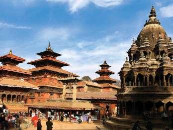 Kathmandu: Patan und Bhaktapur Tagestour