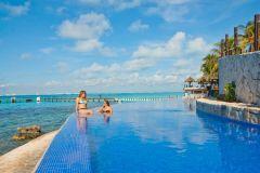 Passeio Parque Garrafon VIP em Isla Mujeres saindo de Cancún