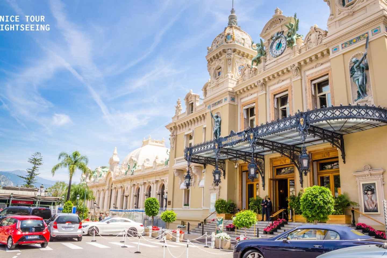 Ab Nizza: Halbtägige Kleingruppentour nach Monaco und Èze