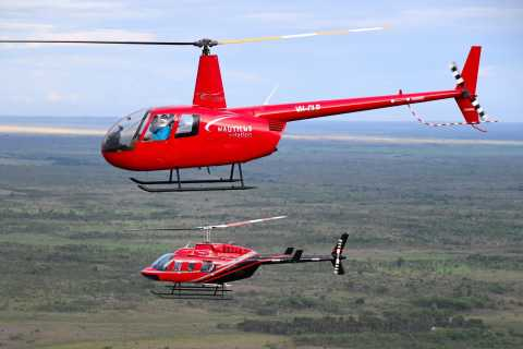 From Darwin: Private Half-Day Helicopter and Fishing Tour