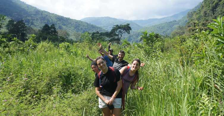 Vang Vieng: Jungle & Caves Full-Day Private Trekking Tour