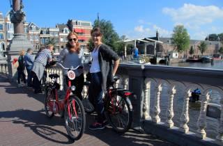 Amsterdam: Fahrradverleih